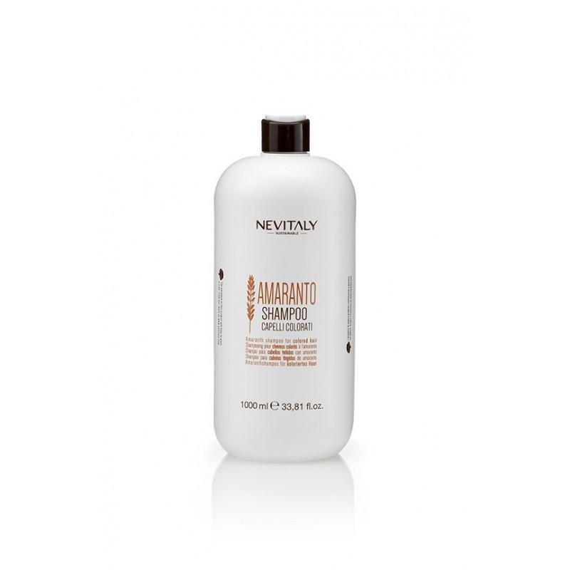 Sampon cu extract de amaranth organic NEVITALY AMARANTO 1000 ml
