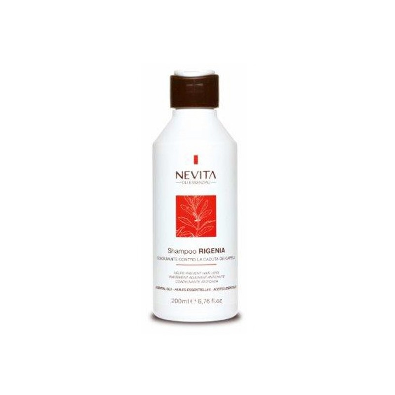 Sampon cu uleiuri esentiale NEVITALY RIGENIA 200 ml